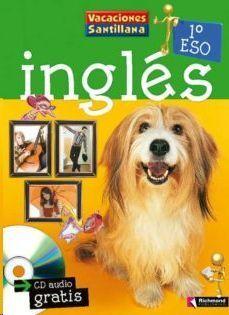 LIBRO DE VACACIONES INGLES 1ºESO (+CD) SANTILLANA