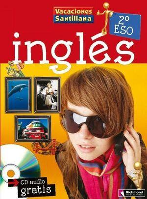 LIBRO DE VACACIONES INGLES 2ºESO (+CD) SANTILLANA