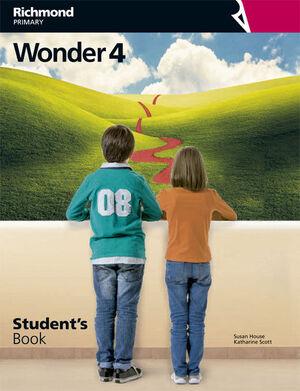 WONDER 4 STUDENT'S BOOK