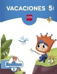 LIBRO DE VACACIONES 5 AÑOS (SONRISAS) ED. SM