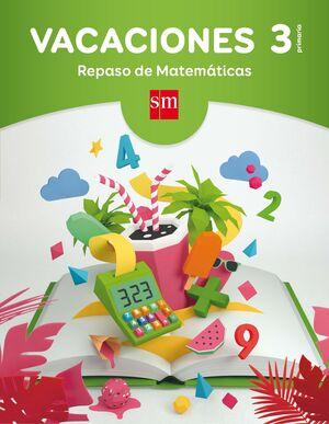 LIBROS DE VACACIONES RESOLUCION DE PROBLEMAS 3 EP.SM