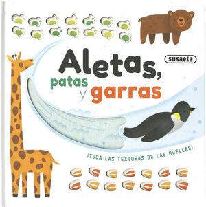 ALETAS, PATAS Y GARRAS