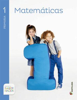 MATEMATICAS 1 PRIMARIA SABER HACER