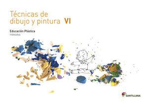 CUADERNO TECNICAS DE DIBUJO Y PINTURA VI 6 PRIMARIA