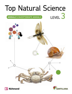 TOP NATURAL SCIENCE 3 INVERTEBRATE ANIMALS