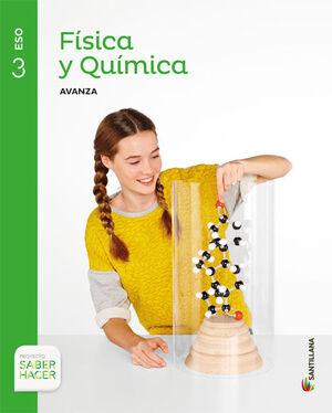 FISICA Y QUIMICA SERIE AVANZA 3 ESO SABER HACER