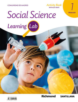 LEARNING LAB SOCIAL SCIENCE MADRID ACTIVITY BOOK 1 PRIMARY