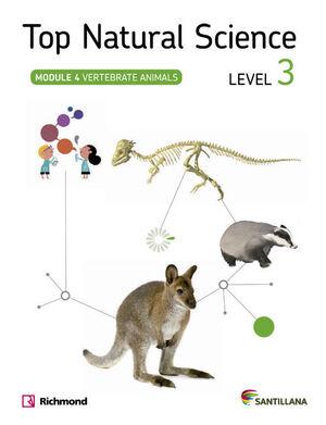 TOP NATURAL SCIENCE 3 VERTEBRATE ANIMALS