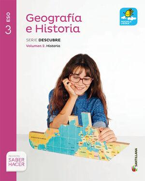 GEOGRAFIA E HISTORIA MOCHILA LIGERA 3 SECUNDARIA