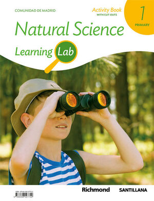 LEARNING LAB NATURAL SCIENCE MADRID ACTIVITY BOOK 1 PRIMARY