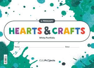 HEARTS & CRAFTS WHITE NOTEBOOK 1 PRIMARIA