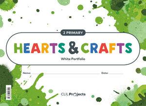 HEARTS & CRAFTS WHITE NOTEBOOK 2 PRIMARIA