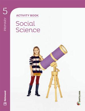SOCIAL SCIENCE 5 PRIMARY ACTIVITY BOOK