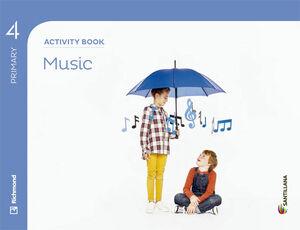 MUSIC 4 PRIMARY ACTIVITY BOOK