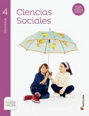 CIENCIAS SOCIALES C-MANCHA + ATLAS 4 PRIMARIA