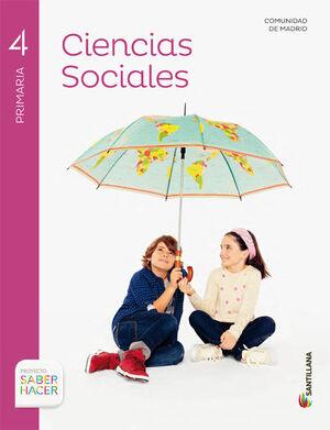 CIENCIAS SOCIALES MADRID  4 PRIMARIA SABER HACER
