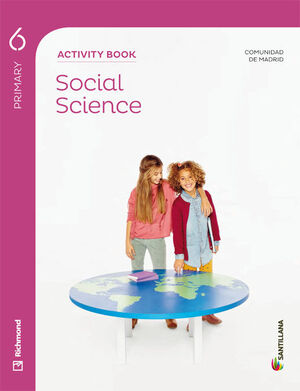 SOCIAL SCIENCE MADRID ACTIVITY BOOK 6 PRIMARY