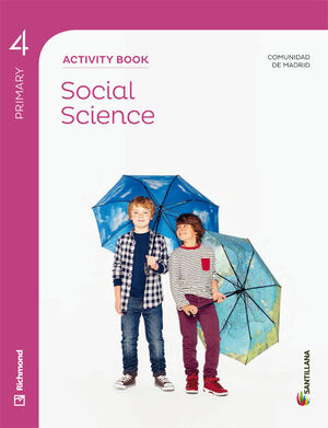 SOCIAL SCIENCE MADRID ACTIVITY BOOK 4 PRIMARY