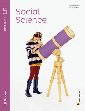 SOCIAL SCIENCE 5 PRIMARY STUDENT'S BOOK + CD