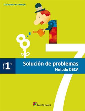 CUADERNO PROBLEMAS METODO DECA 1 PRIMARIA