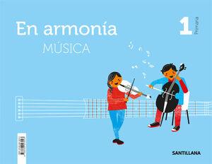 MUSICA EN ARMONIA 1 PRIMARIA