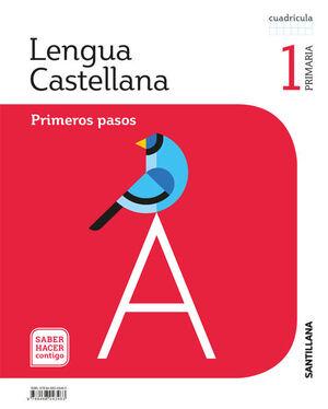 LENGUA PRIMEROS PASOS CUADRICULA 1 PRIMARIA SABER HACER CONTIGO