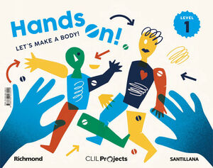 CLIL PROJECTS LEVEL 1 HANDS ON! LET'S MAKE A BODY