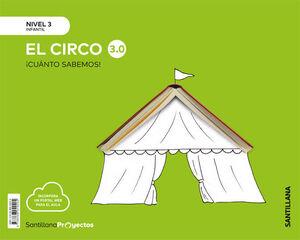 CUANTO SABEMOS NIVEL 3 EL CIRCO 3.0