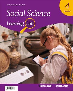 LEARNING LAB SOCIAL SCIEN 4 PRIM MADRID