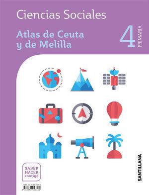CIENCIAS SOCIALES CEUTA Y MELILLA 4 PRIMARIA SABER HACER CONTIGO SANTILLANA