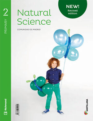 NEW NATURAL SCIENCE MADRID 2 PRIMARY STUDENT'S BOOK