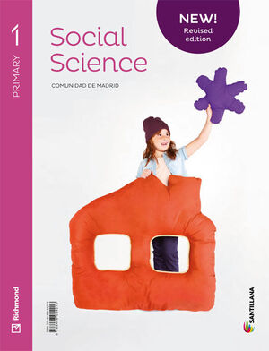 NEW SOCIAL SCIENCE MADRID 1 PRIMARY STUDENT'S BOOK