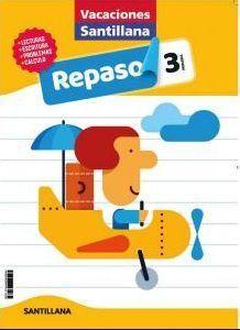 LIBRO DE VACACIONES REPASO 3ºPRIMARIA 2020 SANTILLANA