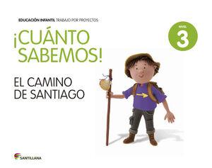 CUANTO SABEMOS NIVEL 3 EL CAMINO DE SANTIAGO