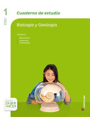 CUADERNO DE ESTUDIO BIOLOGIA Y GEOLOGIA 1 ESO SABER HACER