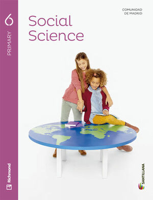 SOCIAL SCIENCE 6 PRIMARY STUDENT'S BOOK + AUDIO