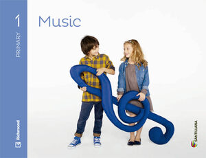 MUSIC 1 PRIMARY STUDENT'S BOOK + CD