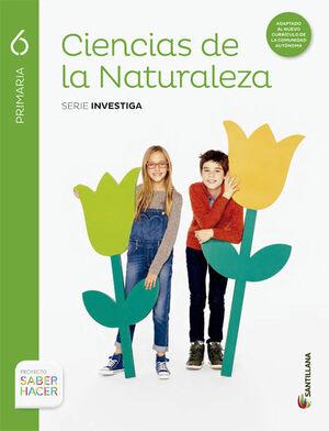CIENCIAS DE LA NATURALEZA RESTO 6 PRIMARIA SANTILLANA