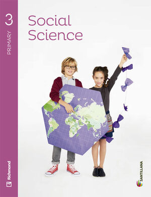 SOCIAL SCIENCE 3 PRIMARY STUDENT'S BOOK + AUDIO