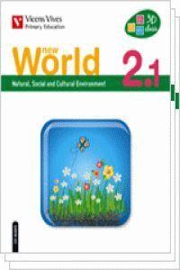 NEW WORLD 2 (2.1-2.2-2.3)+CD