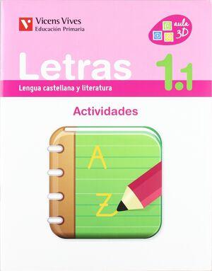 LETRAS 1 ACTIVIDADES 1 (1.1-1.2-1.3)