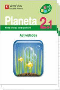 PLANETA 2 ACTIVIDADES (2.1-2.2-2.3)