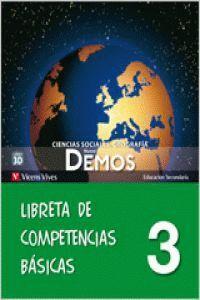 NUEVO DEMOS 3 LIBRETA COMPETENCIAS BASICAS