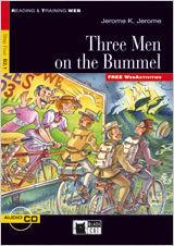 THREE MEN ON THE BUMMEL +CD (FW)