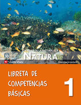 NUEVO NATURA 1 LIBRETA COMPETENCIAS BASICAS