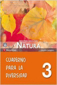 NUEVO NATURA 3 CUADERNO DIVERSIDAD