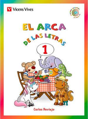 EL ARCA DE LAS LETRAS 1 (E, O, A, I, U) N/C