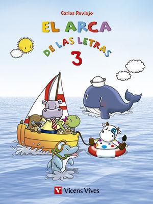 EL ARCA DE LAS LETRAS. LETRAS 3 (T,N,D,B,V,H)