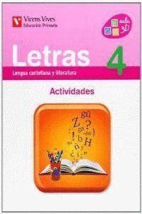LETRAS 4 ACTIVIDADES