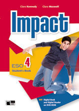 IMPACT 4 STUDENT'S BOOK+DVD-ROM AND